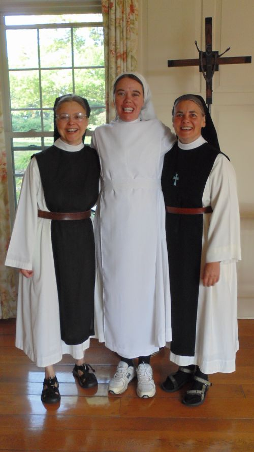 mississippi abbey    clothing of sr mary therese